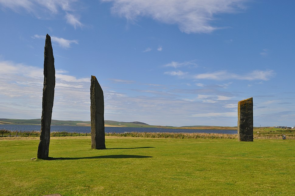 Standing Stones of Stenness, Aug 2014