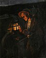 Stanhope Forbes Study for the Carter in 'The Lighting Up Time'.jpg
