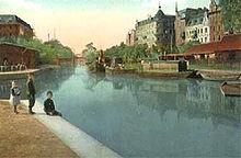 Den gamle havn i gliwice