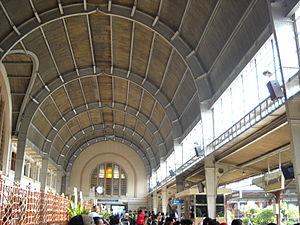 Jakarta Kota railway station - The main hall inside