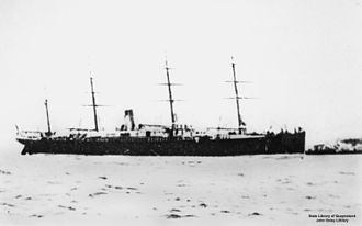 Occidental and Oriental Steamship Company - SS Coptic operated the last service for the company.