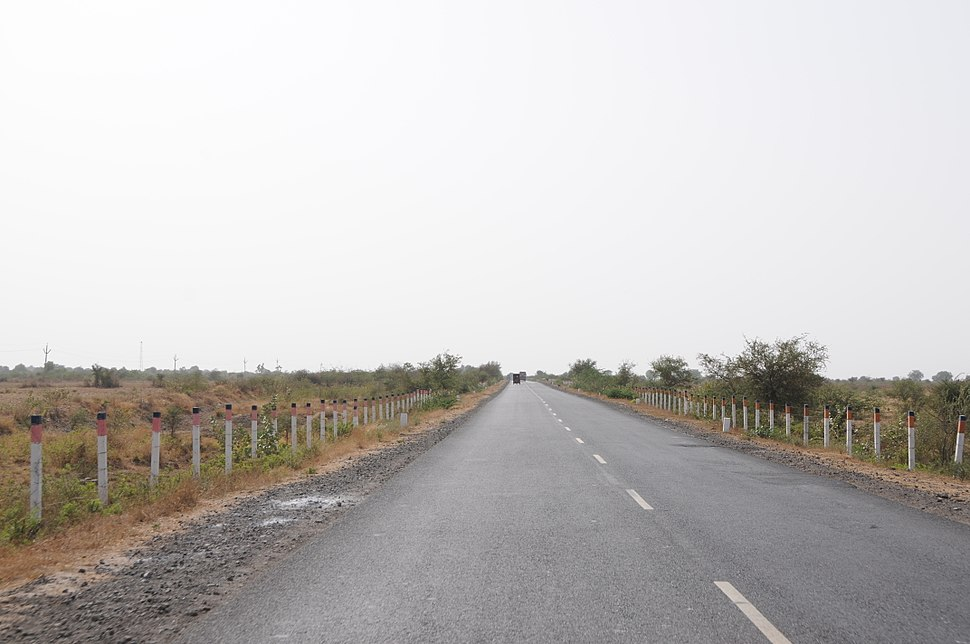 State Highway 6 Bhachau Gujarat India