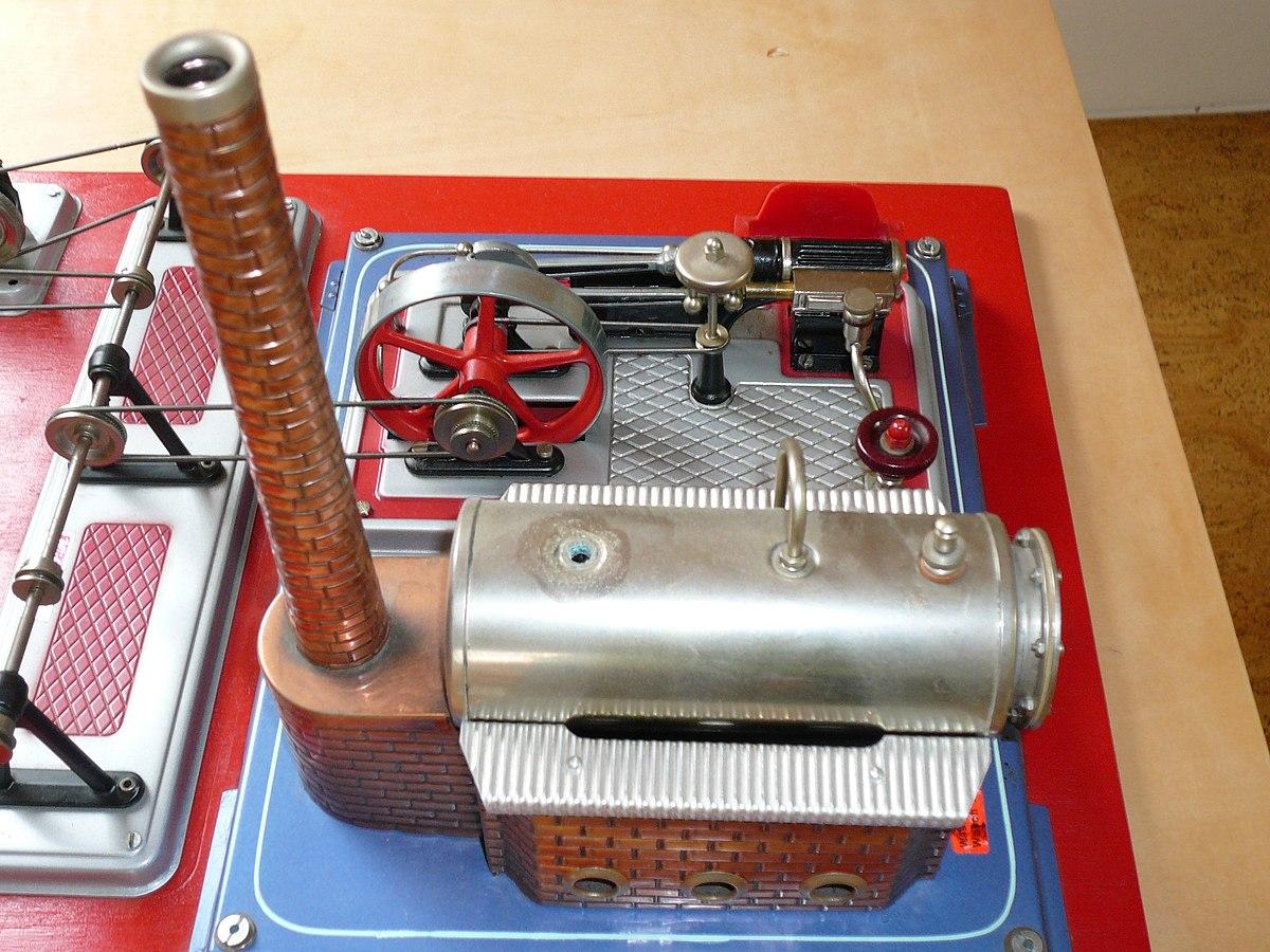 Modelldampfmaschine – Wikipedia