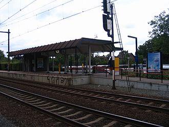 Oss West railway station - Image: Station Oss West