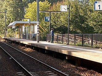 Zaandam Kogerveld railway station - Zaandam Kogerveld railway station