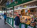 Station book stand, Horstead Keynes (9129451187).jpg
