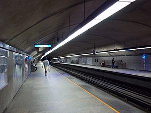 Côte-des-Neiges station - Image: Station metro Cote des Neiges Montreal