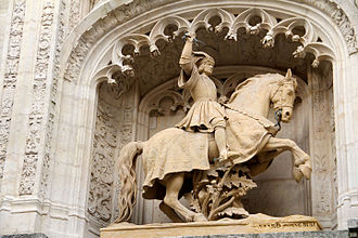 Palace of the Dukes of Lorraine - Equestrian statue of Duke Anthony of Lorraine