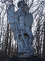 Statue of Michael archangel, 2017 Máriaremete.jpg