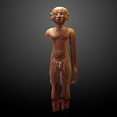 Statuette of a naked young boy-E 32673