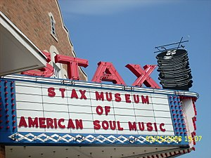 Stax Museum of American Soul Music marquee