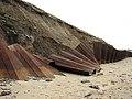 Steel sheet piling - geograph.org.uk - 775618.jpg