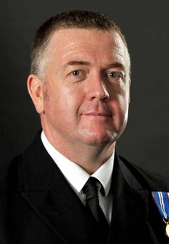 Warrant Officer of the Naval Service - Image: Steve Cass (cropped)