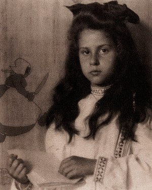 Katherine Stieglitz - Katherine Stiegliz in 1905 at age of 7