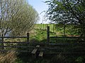 Stile by RAF Cottesmore perimeter fence - geograph.org.uk - 401525.jpg