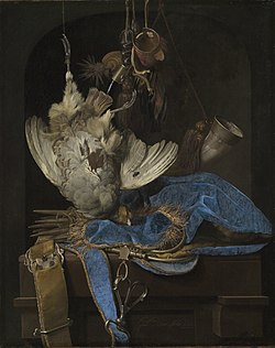 Still-Life with Hunting Equipment and Dead Birds - Willem van Aelst - Google Cultural Institute.jpg