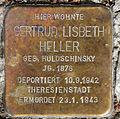 Stolperstein Ahornallee 50 (Westend) Gertrud Lisbeth Heller.jpg