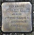 Stolperstein Alt-Tegel 44-46 (Tegel) Hermann Krauss.jpg