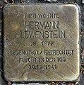 Stolperstein Babelsberger Str 6 (Wilmd) Hermann Löwenstein.jpg