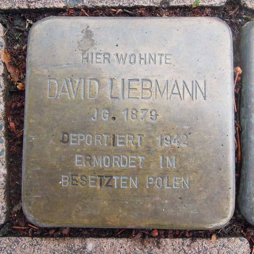 Stolperstein Bad Camberg Neumarkt 11 David Liebmann.jpg