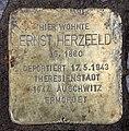 Stolperstein Bamberger Str 27 (Wilmd) Ernst Herzfeld.jpg