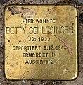 Stolperstein Bartningallee 3 (Hansa) Betty Schlesinger.jpg