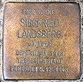 Stolperstein Bayerische Str 9 (Wilmd) Siegfried Landsberg.jpg