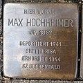 Stolperstein Bocholt Weberstraße 23 Max Hochheimer.jpg