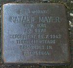 Stolperstein Munich Natalie Mayer.jpg