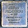 Stolperstein Oranienburger Str 285 (Witt) Johann Puchomirski.jpg