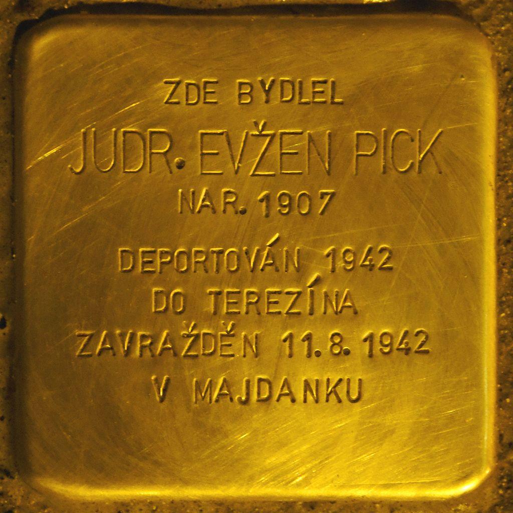 Stolperstein für Evzen Pick.jpg