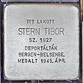 Stolperstein für Tibor Stern (Miskolc).jpg