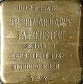 Stumbling block for Dr.  Selmar Harry Falkenstein (Hohe Pforte 13-17)