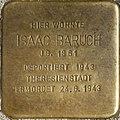 Stolpersteine Köln, Isaac Baruch (Lotharstraße 40).jpg