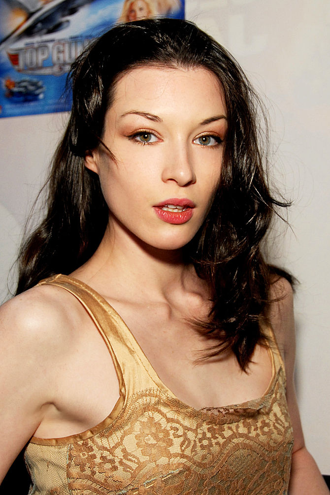 English: Stoya attending the AVN Expo, Las Veg...