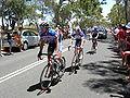 Stragglers, Menglers Hill, TDU 2010 Stage 1.JPG