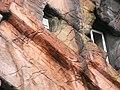 Strange building with fake rock formations Antwerpen 7.jpg