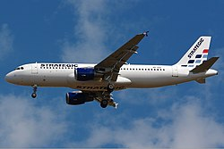 Airbus A320-200 der Strategic Airlines