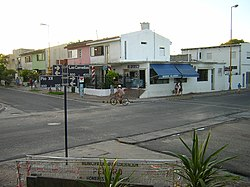 Street corner and local kioskos