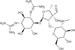 Streptomycin structure.png