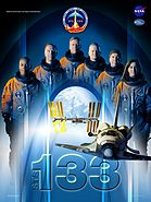 Sts133 mission poster