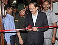 Subhash Ramrao Bhamre inaugurating an exhibition of Solutions and Innovations, at a seminar on Solutions to Problem Statements with the theme 'Indigenous Technological Empowerment of the Indian Army' in New Delhi.jpg