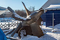 Submarine propeller (ВФ 671-10-20) in B-396 Museum 10-feb-2015.jpg