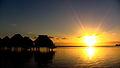 Sunrise over Paraoro, Mo'orea, French Polynesia, 28 June, 2012.JPG