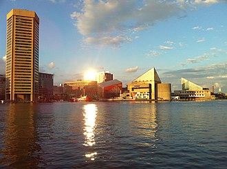 Baltimore metropolitan area - Image: Sunset@Baltimore II