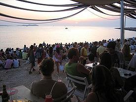 Sunset at Cafe del Mar, Sant Antoni de Portmany (Ibiza) (190294471)