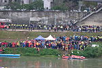 Support Team and Vehicle at South Shore of Keelung River 20150204c2.jpg