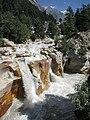 Surya Kund waterfall Gangotri WTK20150915-IMG 0504.jpg