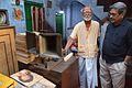 Sushil Kumar Chatterjee and Amrit Gangar with Cobreflex-2 University Loudspeakers Inc - Kolkata 2017-02-23 5567.JPG