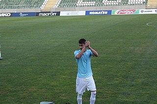 Svetoslav Chitakov Bulgarian footballer (born 1992)